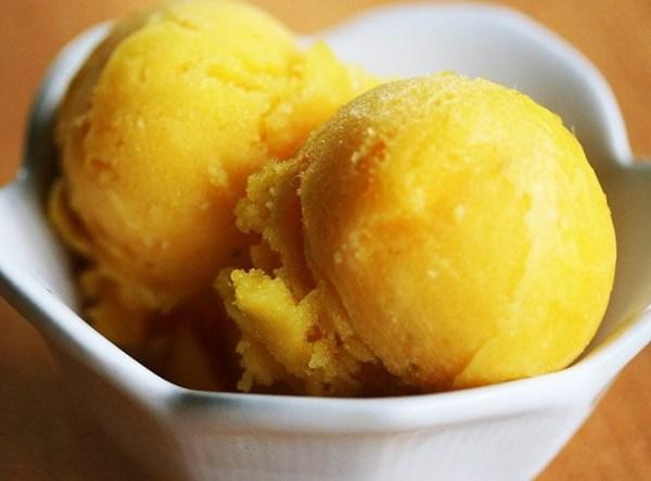 Lime & Mango Sorbet Recipe