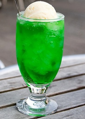 St. Patrick's Day Lime Float