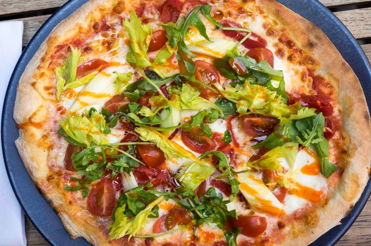 Bloody Mary Pizza