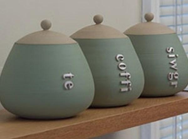 Welsh Language Tea, Coffee And Sugar Sets