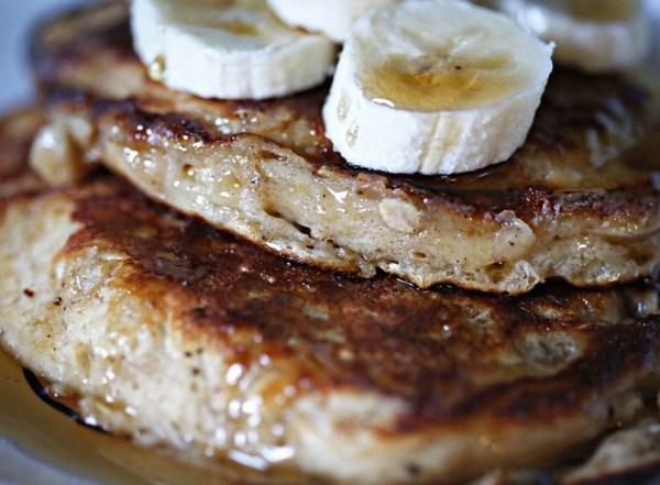 Cinnamon & Yogurt Oat Pancakes