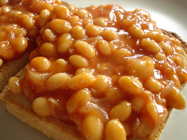 Cheesy Beans On Toast