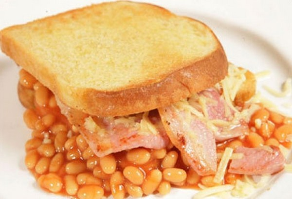The Ultimate Baked Bean Sandwich