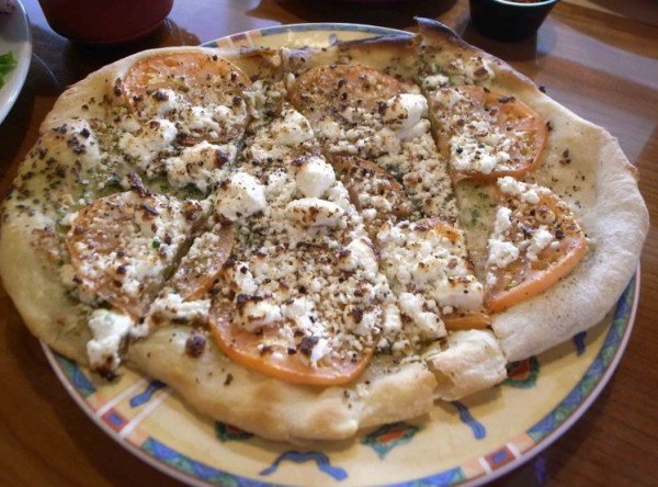 Feta Cheese Pizza