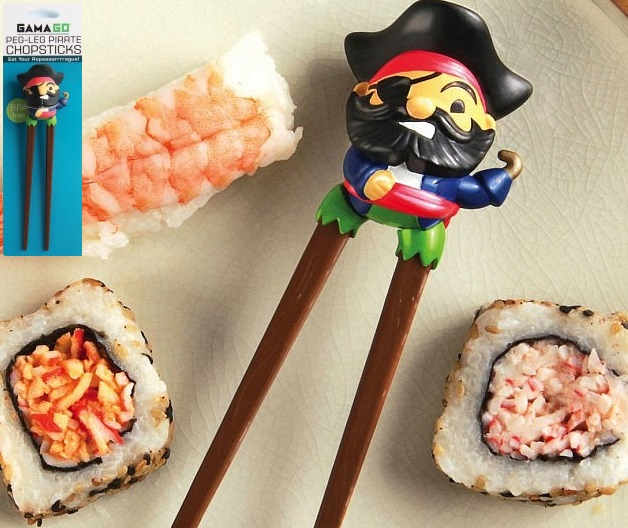 Peg-Leg Pirate Chopsticks