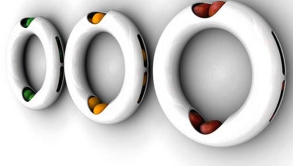Wall Ring Fruit Bowl