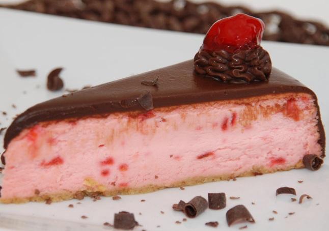 Chocolate Covered Cherry Cheesecake