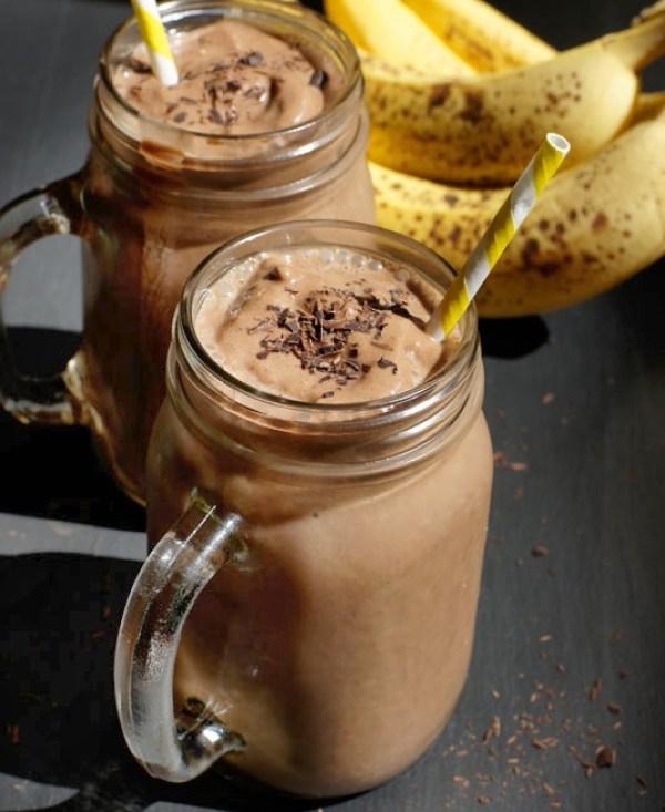 Chocolate & Banana Milkshake