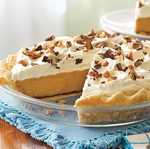Butterscotch-Pudding Pie