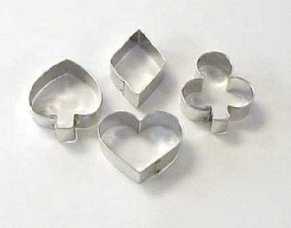 Playing Cards Cookie Cutters