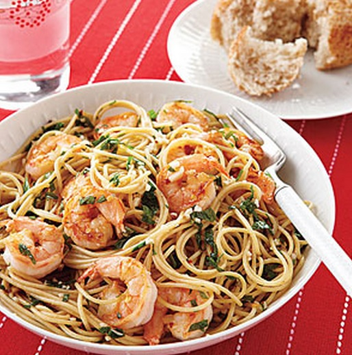 Shrimp, Scampi And Spaghetti