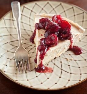 Cherries Jubilee Ice Cream Pie