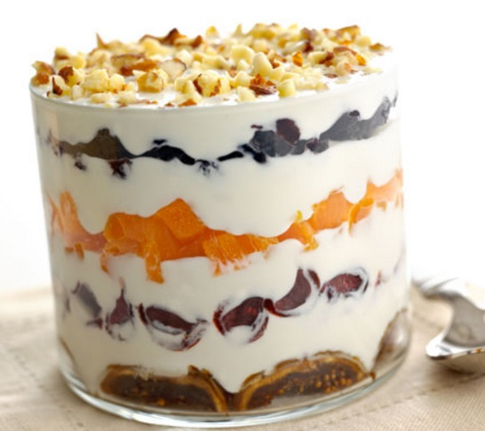 Brandied Fruit Trifle