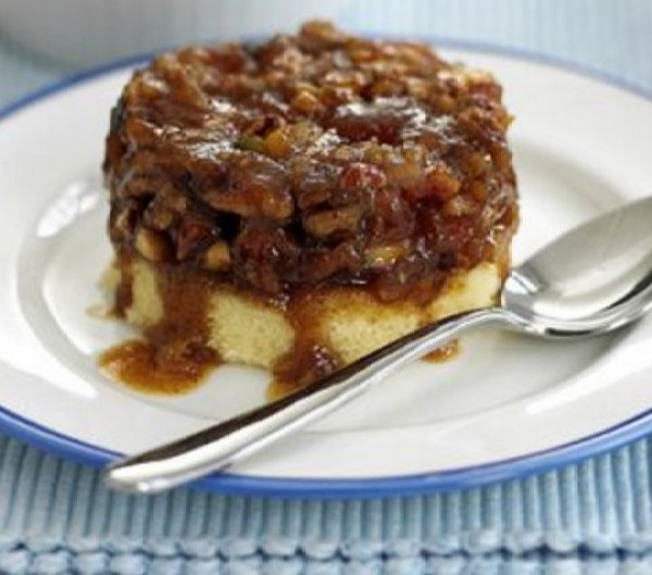Nutty Apricot & Cinnamon Pudding