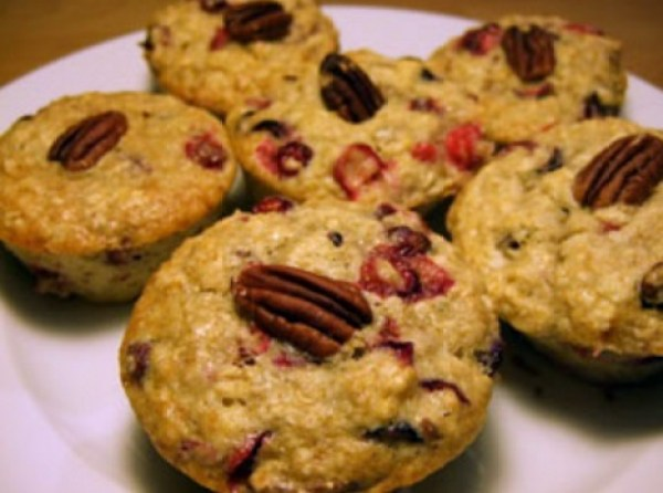 Cranberry & Oatmeal Muffins