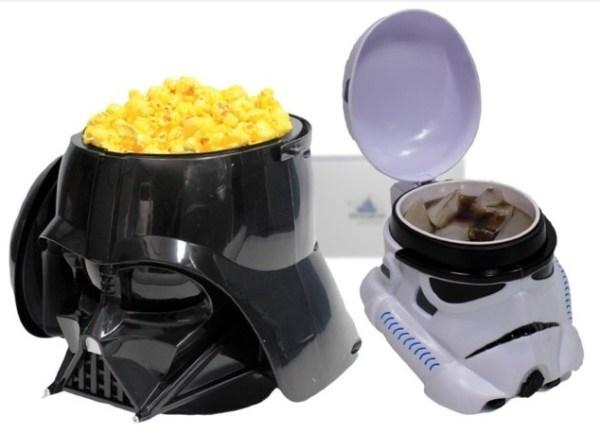 Darth Vader Popcorn Bucket & Stormtrooper Mug Set