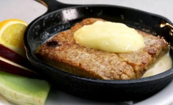Maple Fried Oatmeal