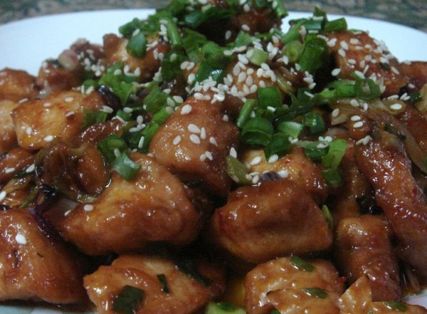 Hot and Spicy Honey Chicken