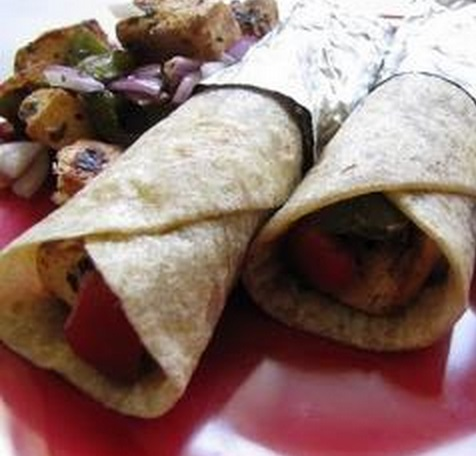 Hot And Spicy Reshmi Kabab Roll