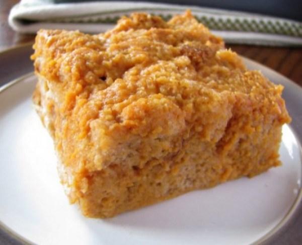 Sweet Potato Pie Bread Pudding