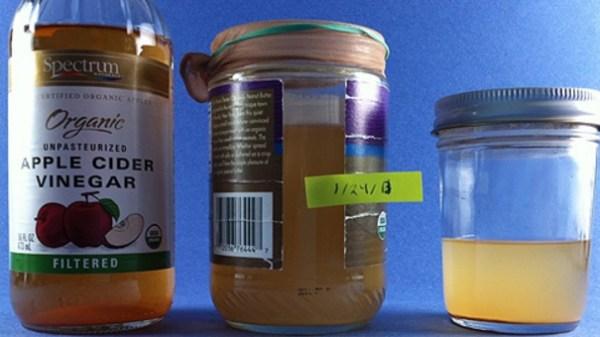 Homemade Organic Apple-Cider Vinegar