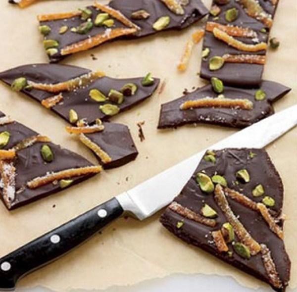 Bittersweet Chocolate Bark
