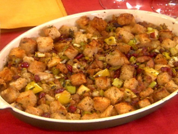 Apple Scrapple Stuffing