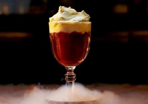 Espresso Zabaione cocktail