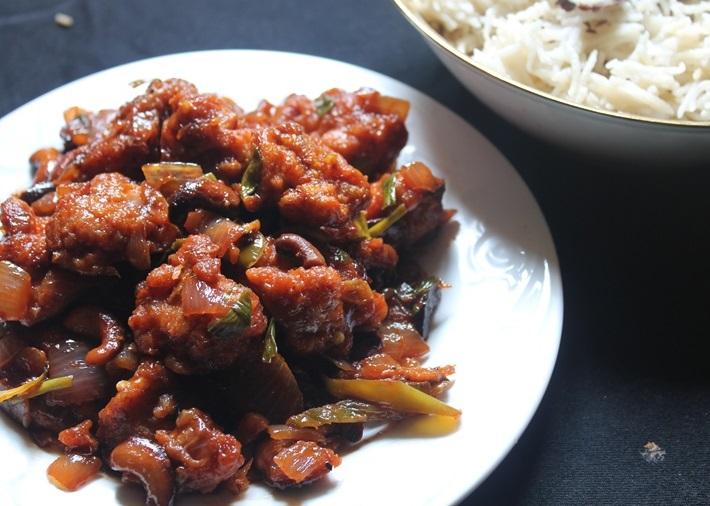 Spicy Cashew Chicken