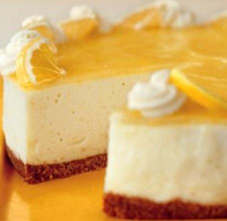 Lemon Bavarian Cream Pie