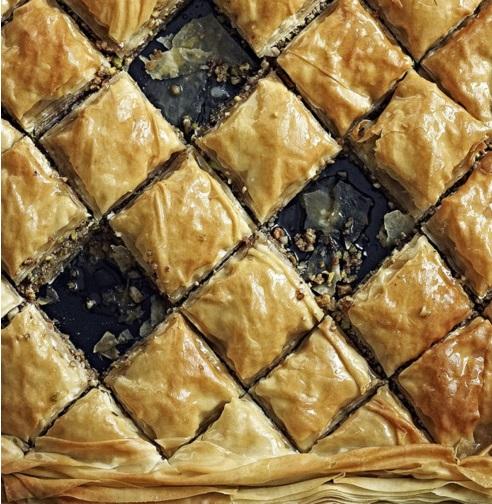 Mixed Nut & Honey Baklava