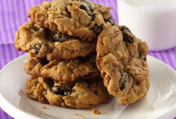 Raisin Bran Cookies