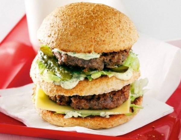 Healthy Kangaroo Burgers