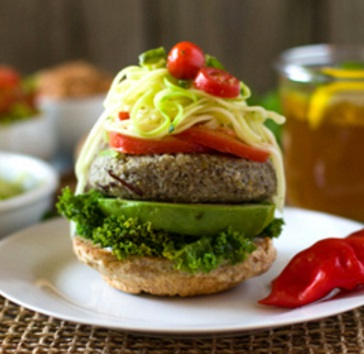 Healthy Vegan Lentil Burgers