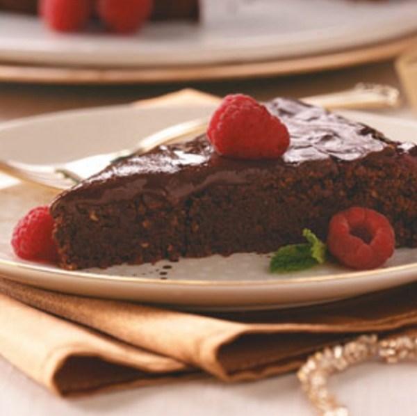 Raspberry Sacher Torte