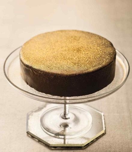 Gilded Sacher Torte