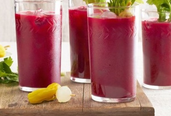 Spicy Beetroot Bloody Mary
