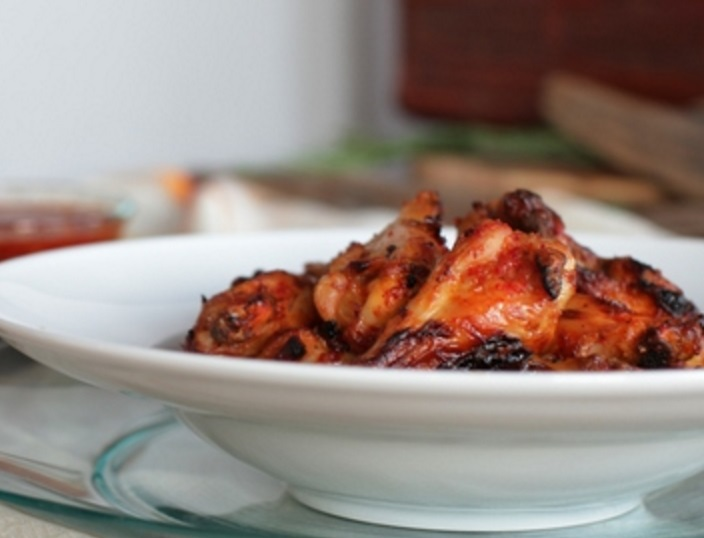 Lager Brined Chicken Wings