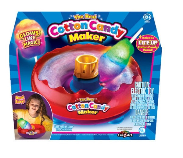 The Real Cotton Candy Maker