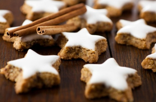 Spicy Oatmeal Cookie Stars