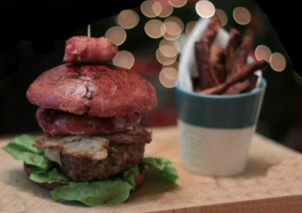 Pig In a Blanket Burger