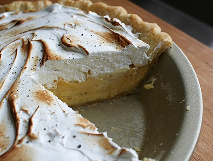 Black Pepper & Grapefruit Meringue Pie