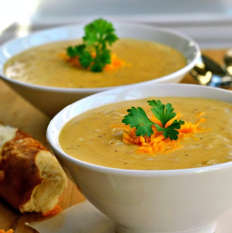 Cheese Pepper Pot Soup