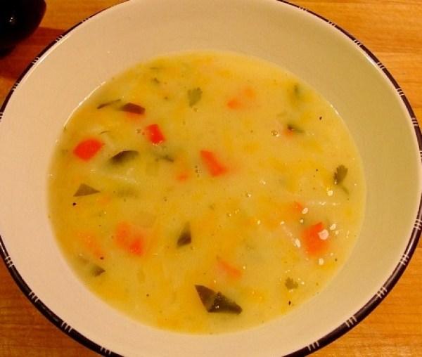 Creamy Vegetarian Pepper Pot Soup