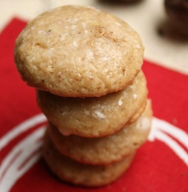 Nutmeg & Lemon Pfeffernuess Christmas cookies
