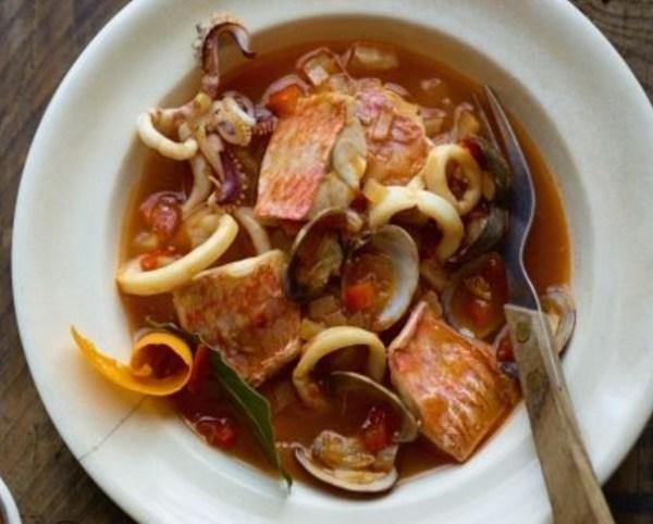 Red Mullet & Squid Bouillabaisse