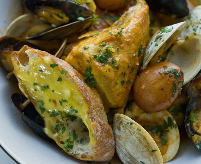 Chicken Bouillabaisse