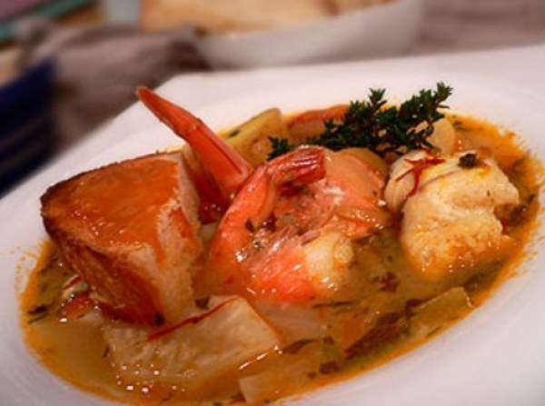 Simplified Fish Bouillabaisse