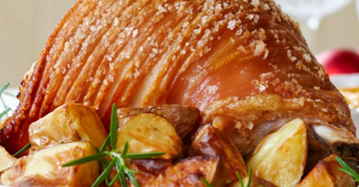 Roast Pork With Mustard Pears