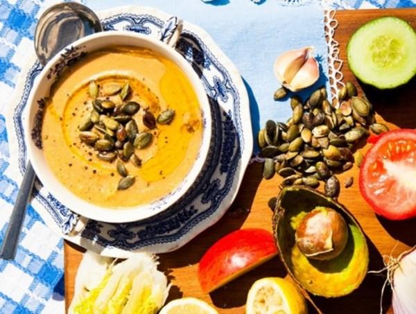 Avocado Gazpacho Soup